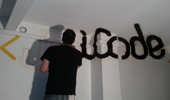 Damien alexandre histoire d 39 une anamorphose for Retouche peinture plafond